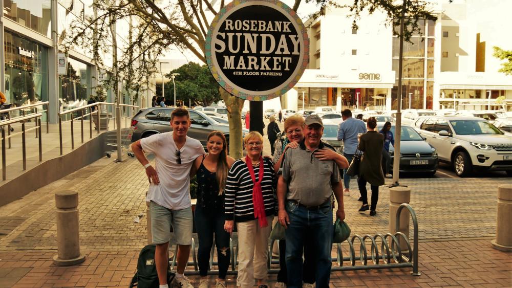 Zu Besuch in Johannesburg