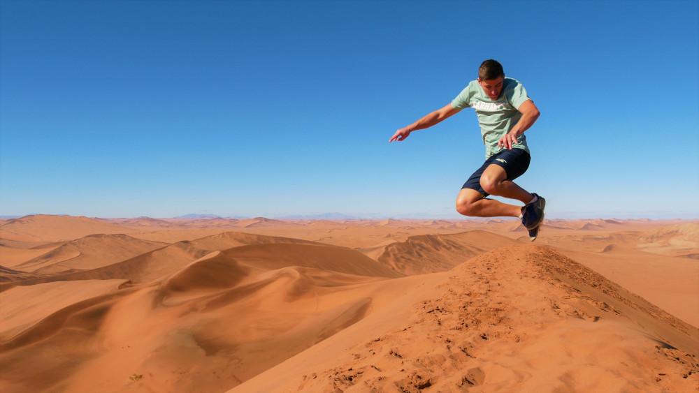 Wir sind in Namibia!