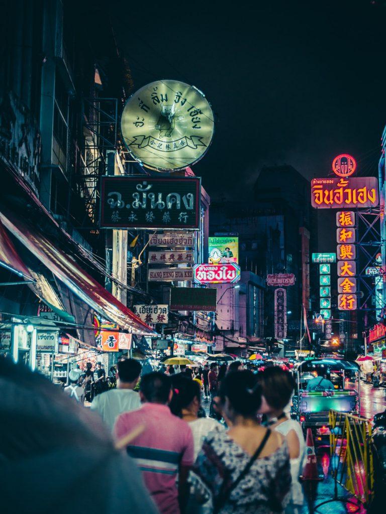 Bangkok China Town night_komprimiert